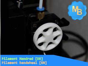 Extruder Handrad [DE] - Extruder handwheel [EN]
