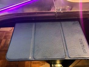 Tablet under desk mount