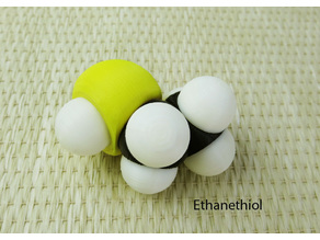 Space-filling molecular models: Sulfur and Phosphorous expansion pack