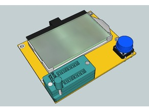 LCR-T4 ESR Meter 3D Model
