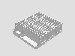 tool- and penholder - deskorganizer - modular - boxes