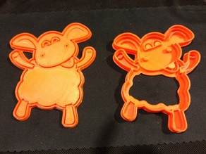 Timmy Time Sheep Cookie Cutter