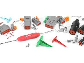 Deutsch connector pin extractor tool