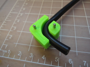 10 AWG right angle silicone wire holder