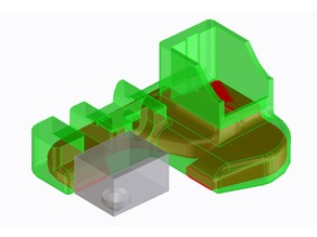 Cooling fan duct for Xinkebot Orca 2 Cygnus Single Extruder
