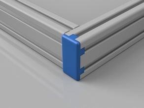 20x40 Aluminium Extrusion End Cap, I-Type, Slot 5 (e.g. Anet PK8)