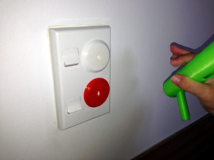 Power socket safety plug (AU/NZ) & key