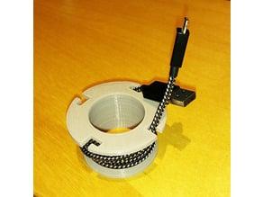 USB Cable Spool