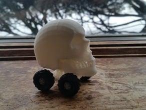 """Mini """"Monster"""" Truck (Human Skull)"""
