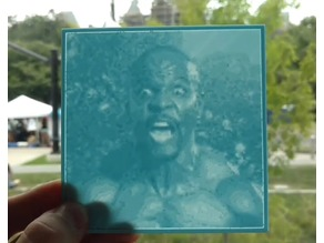 Terry Crews Lithopane