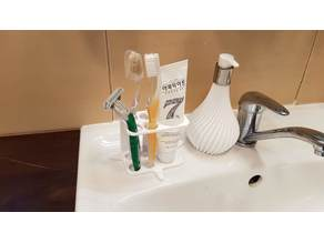 Toothpaste Tube and Toothbrush holder - upgrade