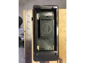 Ghostbusters Ghost trap 18650 battery compartment