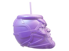 thanos drinking cup