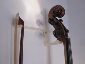 Violin bracket