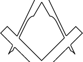 Square Compass Free Masson Cutter