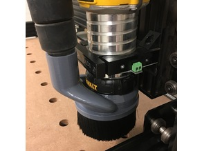 Dewalt 611 CNC Dust Shoe