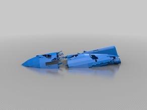 GR-45 Transport Wreckage (Star Wars Legion scale)
