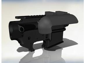 AR-15 casing deflector