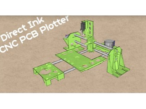 Direct Ink PCB Plotter