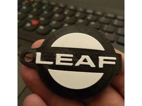 Nissan Leaf keychain