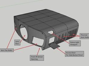 Epson 5040UB Projector Shell