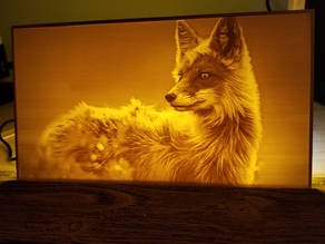 Fox Lithophane