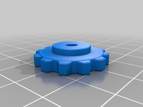 Thumbwheel for Wanhao Duplicator I3 - Refit