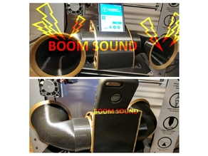 Mobile Phone Dock with passive Boom Sound (NEW Add-On)