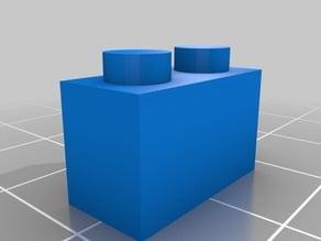Thin 2 block Lego