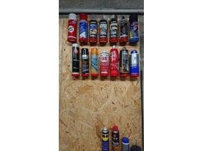support de bombe de peinture