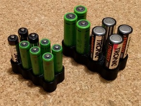 AA / AAA Battery Holder / Box
