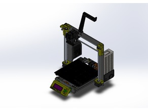 Prusa i3 MK3S SolidWorks Assembly (with STEP)
