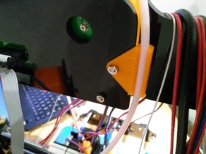 Zonestar P802 bowden tube clip