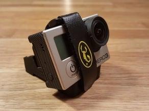 Customizable Miniquad GoPro & Mobius Mount