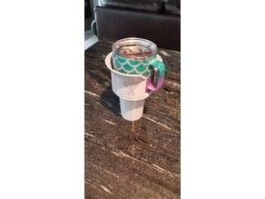 Oversized Yeti Mug Car Cup Holder Adapter