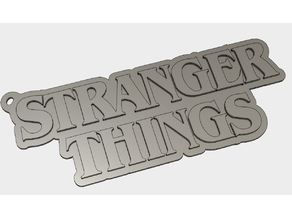 Stranger Things Key Ring