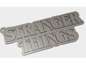 Stranger Things Key Ring