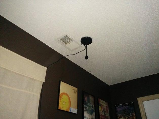 Oculus Rift Cv1 Sensor Ceiling Mount By Ftwelve Thingiverse