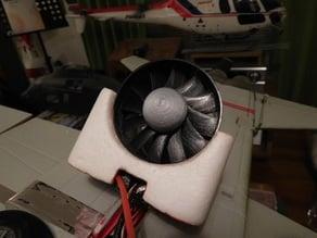 70mm 12-blade EDF fan. Fits Starmax F-5 EDF.