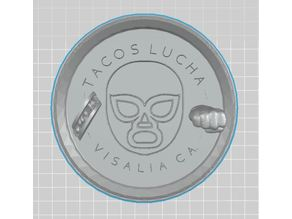 Tacos Lucha Plate