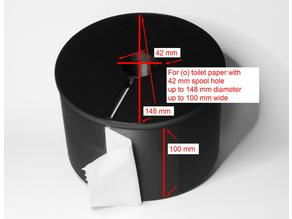 paper box holder - large