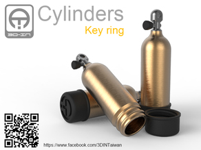 Cylinders [Key ring]