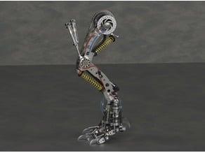T-Rex mechanical leg