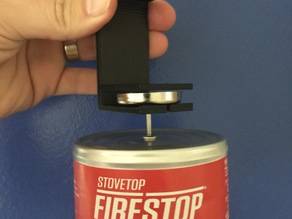 Anti-Fire Safety Canister Shelf Bracket