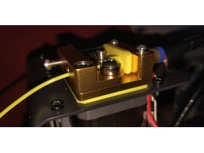 MK8 Extruder feeder adapter for Monoprice Select Mini/Maylan M200
