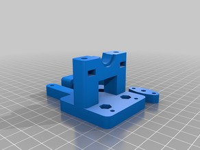 E3D v6 Clone Bowden X-carriage mount Prusa i3 3DTouch Sensor