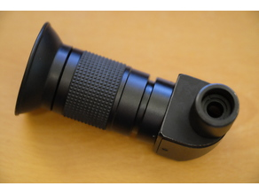 Contax RA Finder Adapter to Takahashi Polar Scope