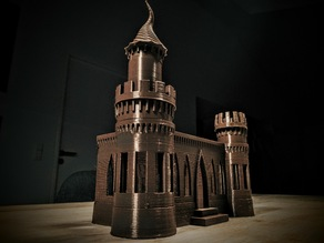 """New tower for """"Concrete castle"""""""