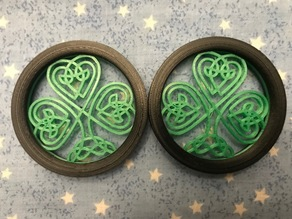 Celtic Shamrock Ear Plug