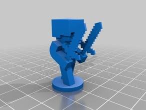 Minecraft Figurines/Chess Set